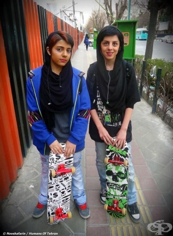 Момичета от Техеран.