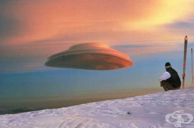 Облак, приличащ на НЛО