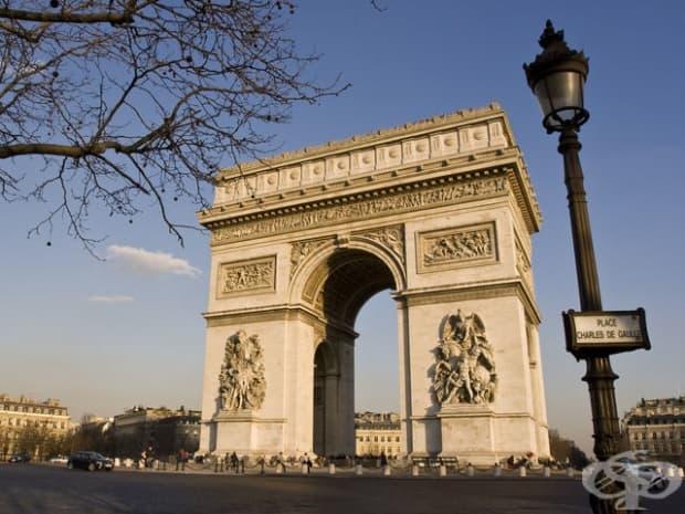 Триумфалната арка, Франция