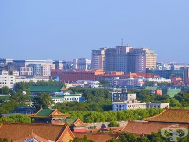 Забранения град, Китай