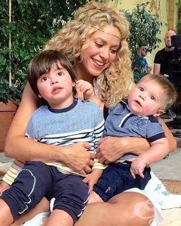 Синовете на Шакира и Пике - Милано и Саша