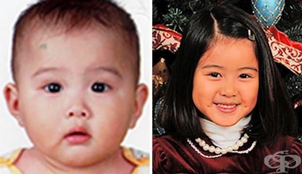 Най-сладката усмивка от това осиновено китайско момиченце.