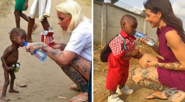 Въпреки че не е законно осиновено, тази жена смята това дете за свой син!