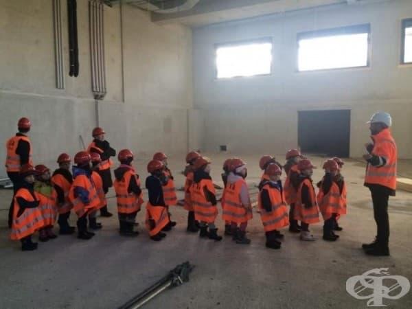 Когато гледате деца, винаги трябва да сте подготвени с подходящата екипировка.
