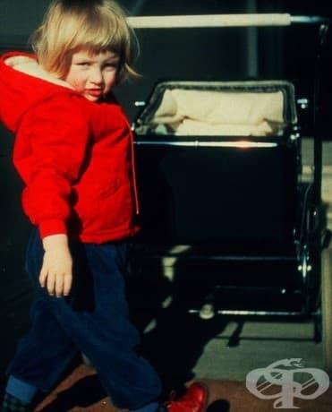 3-годишната принцеса Даяна, 1964.