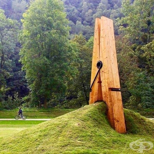 Арт изкуство – пейзаж и обект.