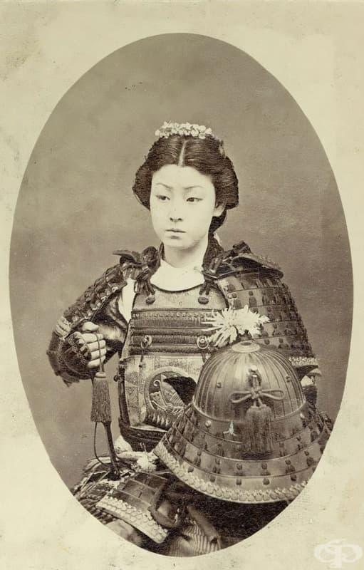 Жена самурай, Онна-Бугейша (края на XIX век)