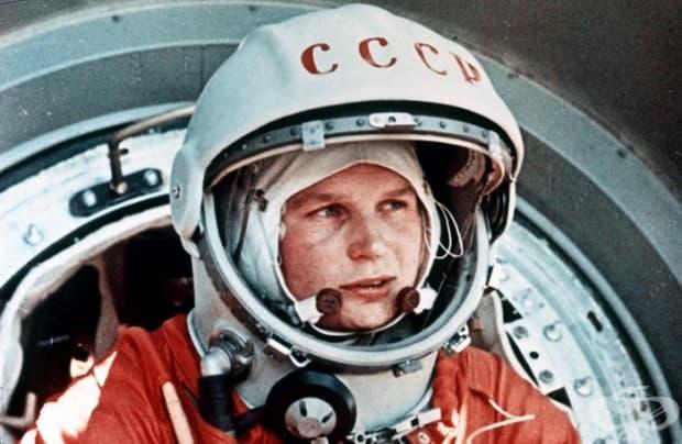 Валентина Терешкова – първата жена, която лети в космоса на борда на Восток 6 (1963)