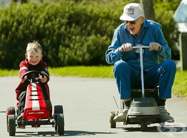 Дядото е не само роднина, но и истински приятел.