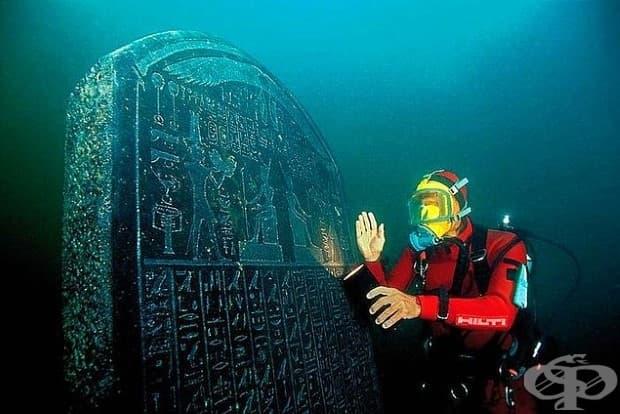 Вижте галерия на новооткрития потънал древен египетски град Хераклейон!
