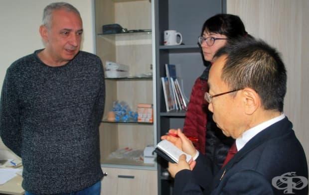 """Д-р Такекава – Аташе по медицинските въпроси на Япония за Република България, на посещение в МБАЛ """"ВИТА"""""""