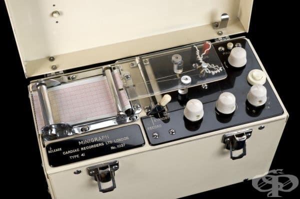 Английски електрокардиограф от 1970 година