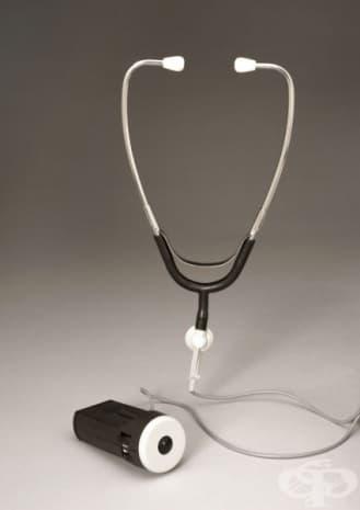 Електронен стетоскоп от 1978г.