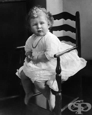 2-годишната кралица Елизабет II, 1928.