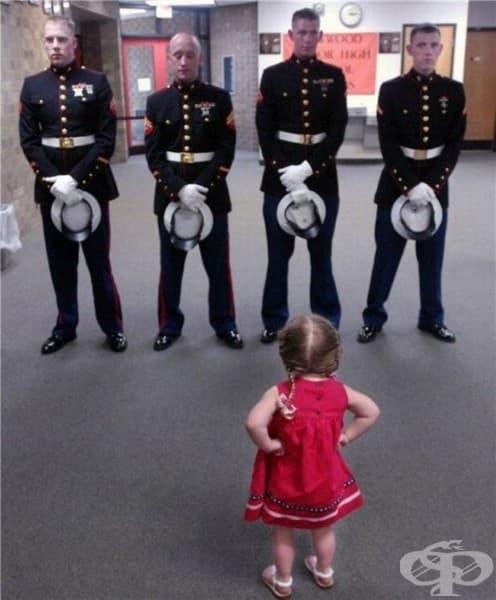 Един малък сладък генерал.