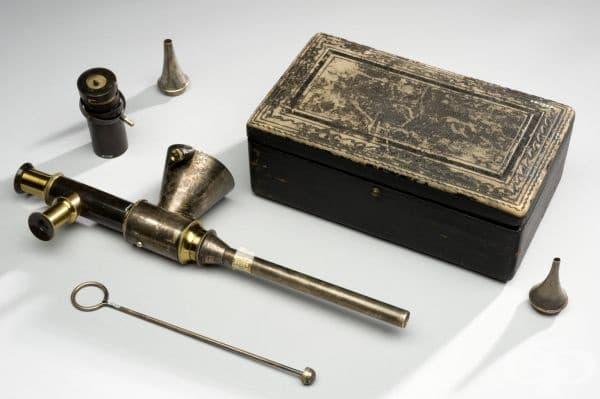 Английски ендоскоп от 1875 година
