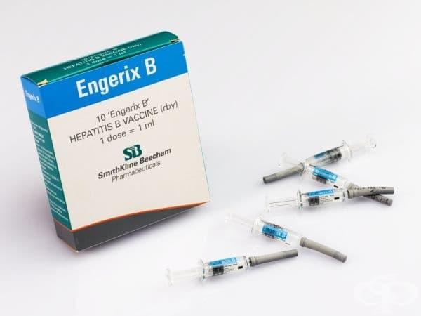 """Ваксини """"Engerix B"""" срещу хепатит B от 1980 година"""