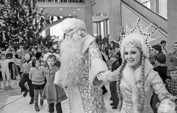 Да си спомним за дядо Мраз в снимки от СССР