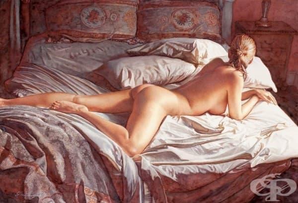 Чувствена еротика създадена с водни бои