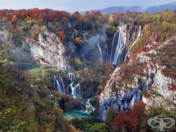 Есенен водопад, Хърватия.