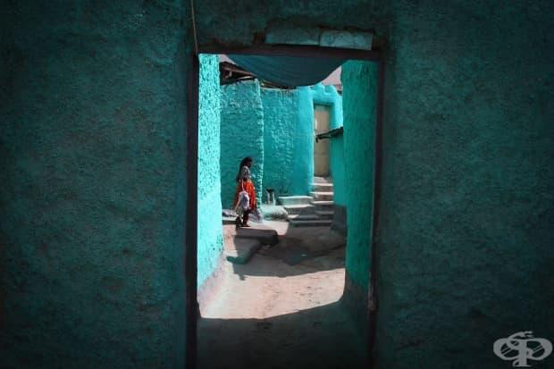 Синият град Медина