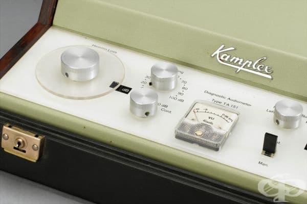 Диагностичен аудиометър от 1972 година