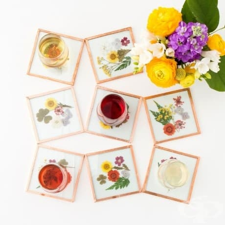Топ 10 крафт проекти, вдъхновени от цветята, които да направите у дома си