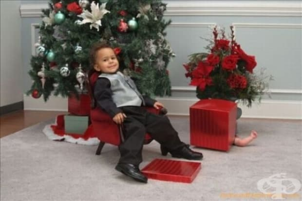 Дядо Коледа ми е донесъл братче? Не, не съм го виждал.