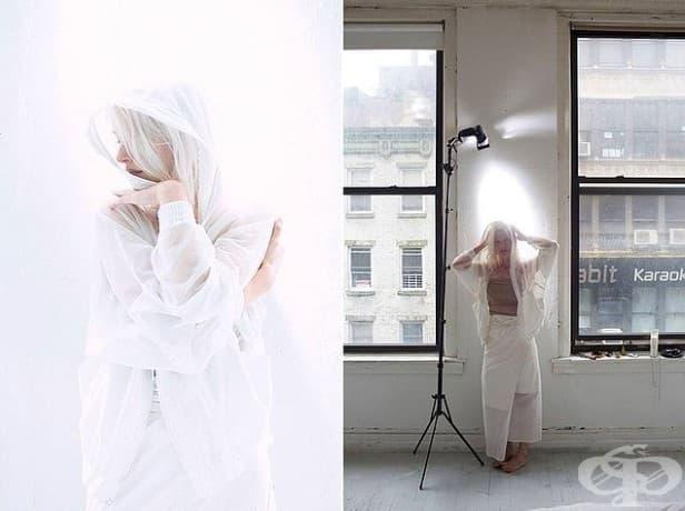 С малко помощ от Photoshop и светлина, влязате в света на белите сънища.