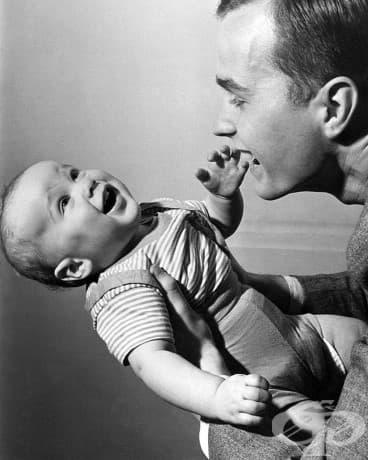 1-годишният Джордж У. Буш, 1946.