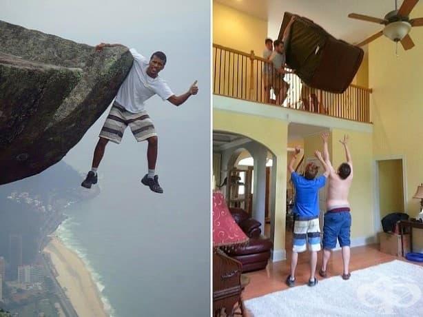 18 смешни снимки: тези хора разширяват границите на глупостта!