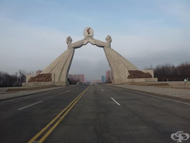 Арката на обединението - двете Кореи някога трябва да се обединят