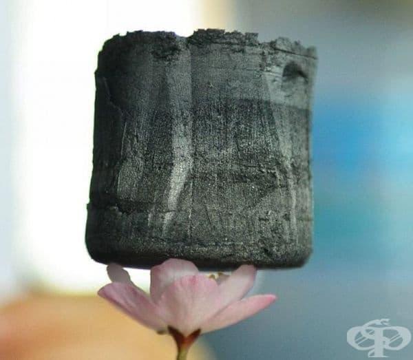 Графенов аерогел - най-лекият материал, правен някога.