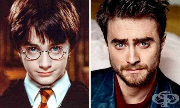 Хари Потър, изигран от Даниел Радклиф