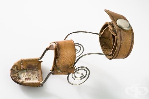 Старинна шина за обездвижване на пръсти от началото на 20 век