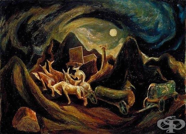 """Джаксън Полък, """"На Запад"""", 1934-1935"""