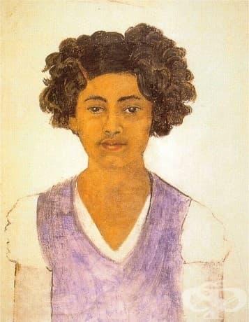 Фрида Кало, Автопортрет, 1922