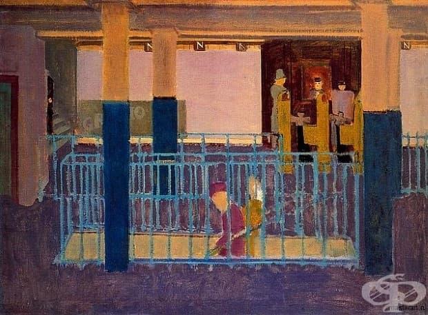 """Марк Ротко, """"Вход към метрото,"""" 1938"""