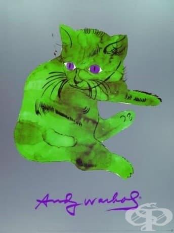 "Анди Уорхол, ""Котка на име Сам,"" 1954"