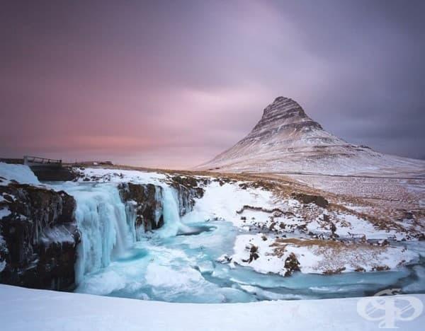 Исландия, планината Киркюфел