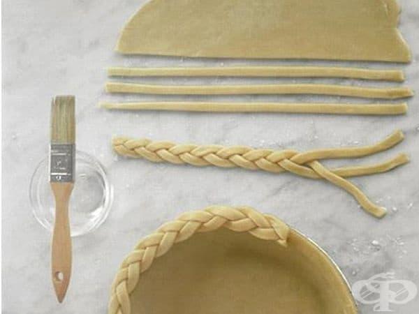 Сплетени краища. Ако можете и обичате да правите плитки, този вариант няма да ви затрудни.  Снимка:marthastewart.com