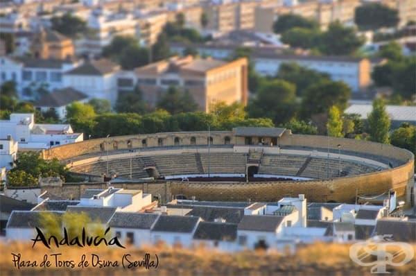 Плаза де торос де Осуна, Севиля, Андалусия, Испания (Арената на Меереен)