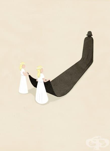 Тъжната истина за модерния живот в илюстрациите на Марко Мелграти