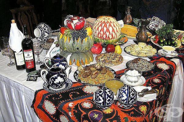 28 вкусни снимки от кухнята на Узбекистан...не е за гладни
