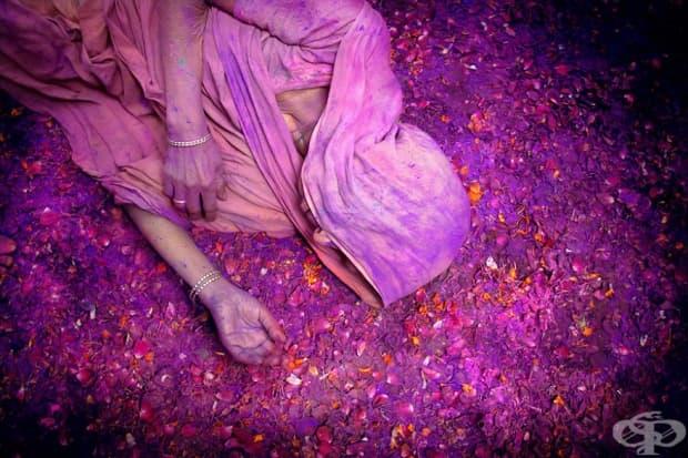 Свещените празници във Вриндаван, Индия