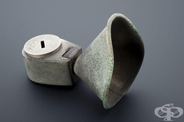 Инхалатор, създаден от Едуард Мърфи през 1848 година