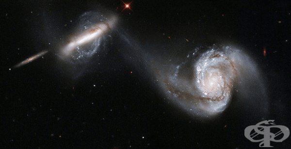 Взаимодействащи си галактики