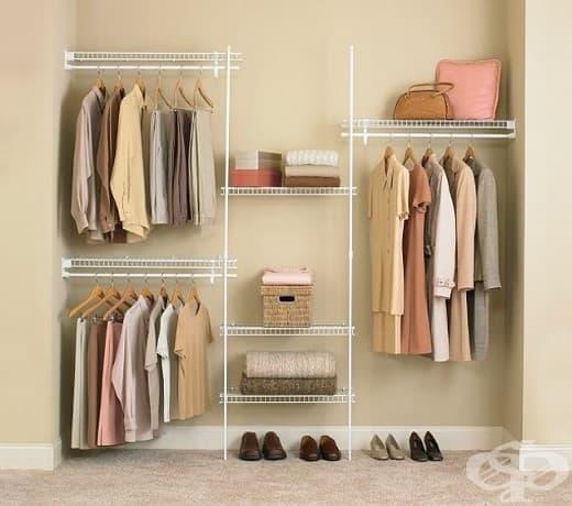 Можете да инсталирате стелажни системи във всяка стая, за да добавите място за съхранение