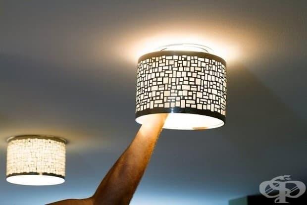 Можете да актуализирате осветлението, без това да изисква никаква електрическа работа с помощта на магнитни абажури.
