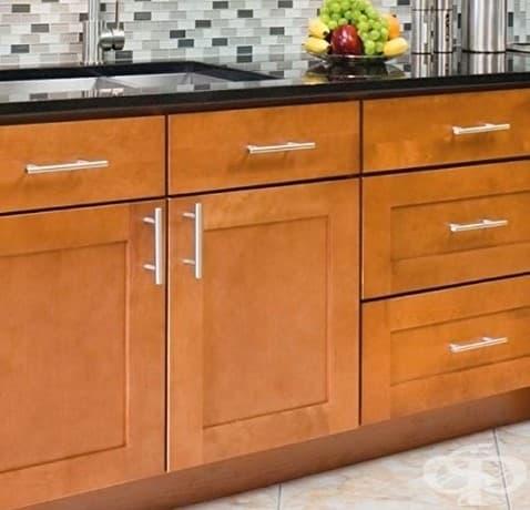 Ако промените дръжките на вашите шкафове и чекмеджета, ще се почувствате, сякаш сте променили цялата си кухня.